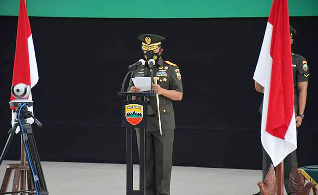 Pangdam I/BB Mayjen TNI Hassanudin, SIP, MM
